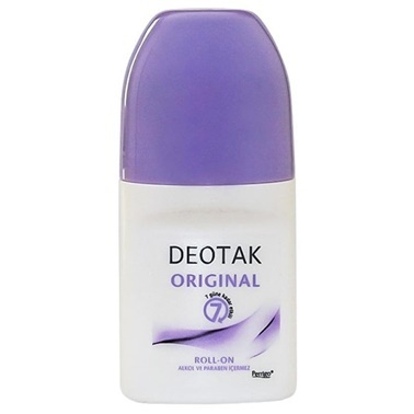 Deotak DEOTAK Original Roll-On Deodoant 35 ml Renksiz